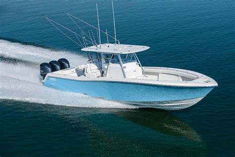 Invincible Boats Apparel by Fishing Boat Review Invincible 39 Open Fisherman Salt