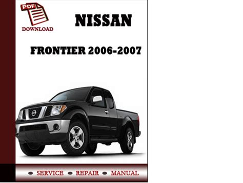 car owners manuals free downloads 2007 nissan frontier electronic toll collection downloads by tradebit com de es it