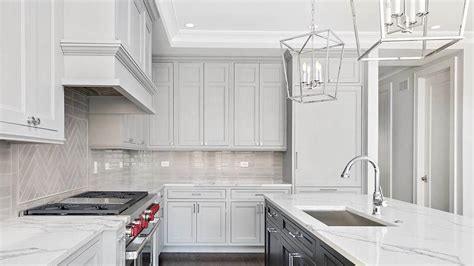 gray kitchen backsplash 6 gorgeous chicago kitchens you to see preview chicago 1319