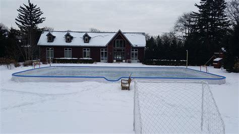 Backyard Rink Installations