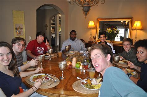 Thanksgiving Dinner with Friends