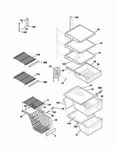 Frigidaire Side By Refrigerator Parts Diagram