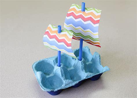 Cartoon Mayflower Boat by Mayflower Boat Egg Carton Craft Woo Jr Kids Activities