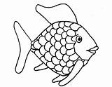 Fish Coloring Rainbow Visit Shiny sketch template