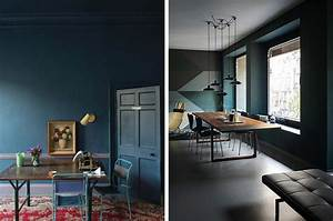 Mur Bleu Pétrole : chambre bleu petrole peinture cuisine bleu petrole peinture cuisine bleu petrole quelle with mur ~ Melissatoandfro.com Idées de Décoration