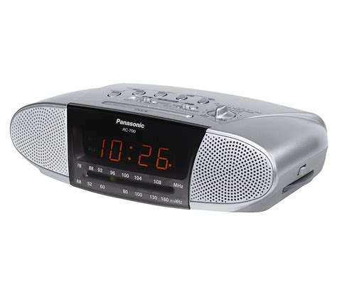 Panasonic AM FM Clock Radio   Portable & Personal   1OO ...