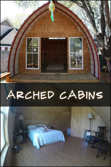basic arched cabin kit minimally insulated  finished