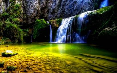 4d Wallpapers Backgrounds Waterfall Desktop Apps Android