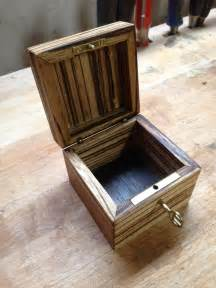 custom locking zebrawood engagement ring box with heart inlay by cjs woodworks custommade com