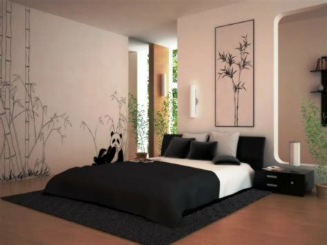 ideen für kahle schlafzimmer wände wandgestaltung mit bildern wanddekoration ideen mit