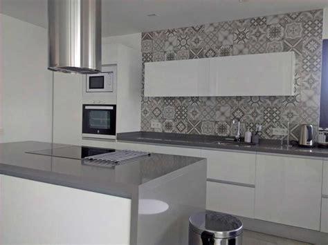 cocinas blancas siempre en decoracion planos modernas