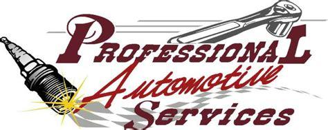 Professional Automotive Services