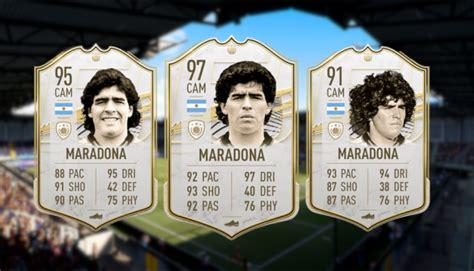 Pele, maradona and ronaldo top the fifa 21 best players list. maradona-fifa-21-fut-2147737 - TEC
