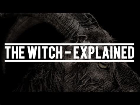 The Witch (2016) - Explained - YouTube