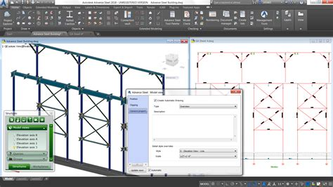 autodesk previews enhancements for advance steel and steel connections for revit at nascc 2017