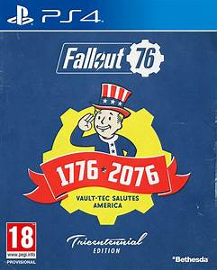 Fallout 76 Tricentennial Edition PS4New Buy From