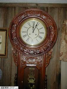 Armslist for sale trade huge antique wall clock for Antique wall clock for sale