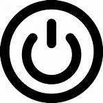 Icon Svg Button Power Icons Icono Symbol
