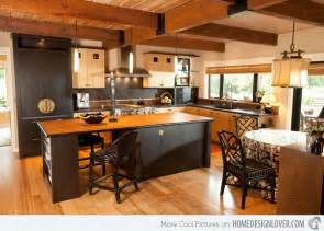 Island For Kitchen With Stools 15 Glamorous Asian Kitchen Design Ideas Home Design Lover