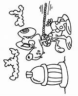 Coloring Dog Fire Hydrant David Cliparts Clipart Culering Leash Printactivities Library Cartoon Favorites sketch template