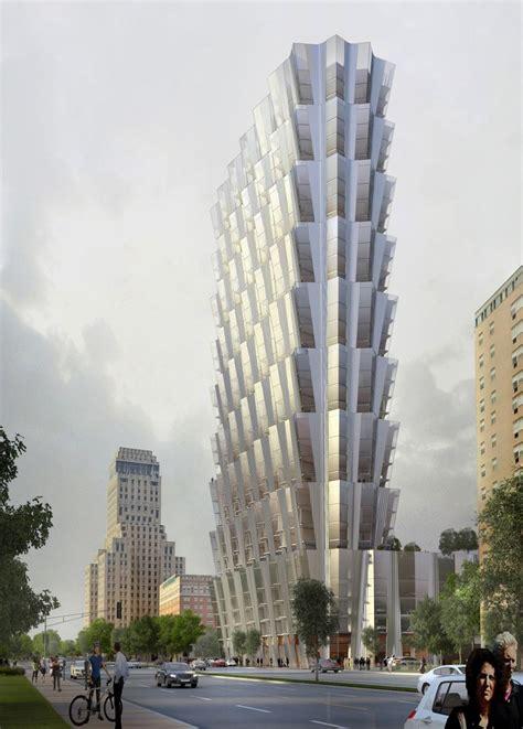 studio gang plans   apartment tower  st louis