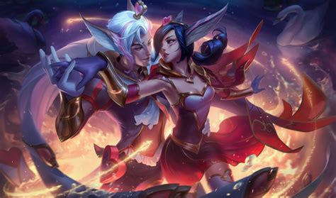 sweetheart xayah sweetheart rakan lol wallpapers
