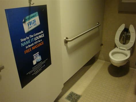 restroom advertising 3d media promotions directory