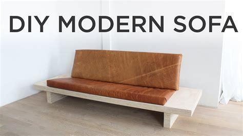 diy modern sofa     sofa   plywood youtube