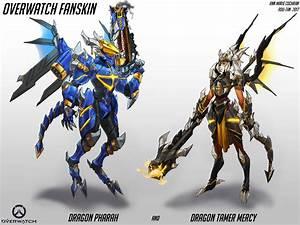 ArtStation Overwatch Fanskin Dragon Pharah And Dragon