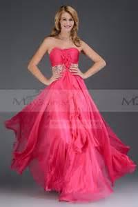 robe pour un mariage pas cher robe longue de soirée azale fushia maysange