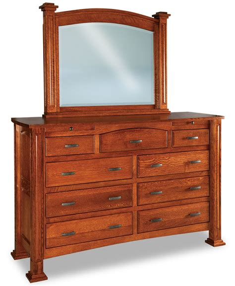 Lexington 9 Drawer Jewelry Dresser - Amish Direct Furniture