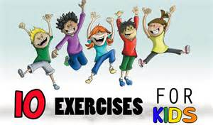 Simple Kids Exercises