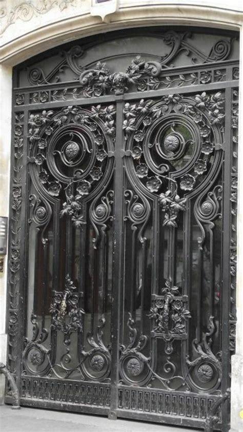 decoration des portes en fer porte en fer forg 233 plus de 40 mod 232 les fascinants