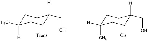 file cis and trans 1 methyl 4 hydroxymethyl cyclohexane