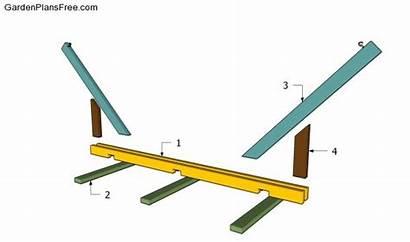 Hammock Stand Plans Wood Homemade Building Diy