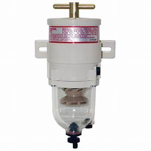 Racor Turbine Series Fuel Filter  Water Separator  60 Gph  4