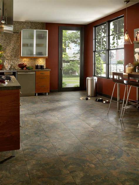 how to install vinyl flooring in kitchen installing vinyl flooring hgtv 9462