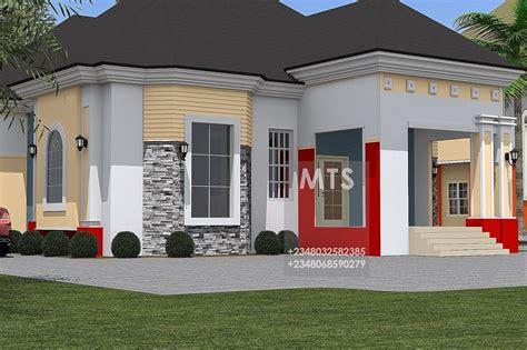 modern  contemporary nigerian building designs  bedroom bungalow