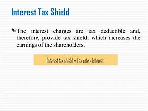 Tax Shield Berechnen : 3 financial leverage ~ Themetempest.com Abrechnung