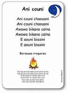 Traduction Français Indien : berceuse iroquoise ani couni chaouani paroles illustr es imprimer gratuitement ~ Medecine-chirurgie-esthetiques.com Avis de Voitures