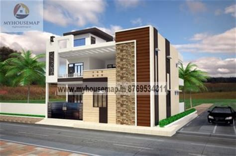 simple duplex front elevation design