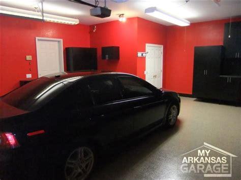 custom cabinets  arkansas garage