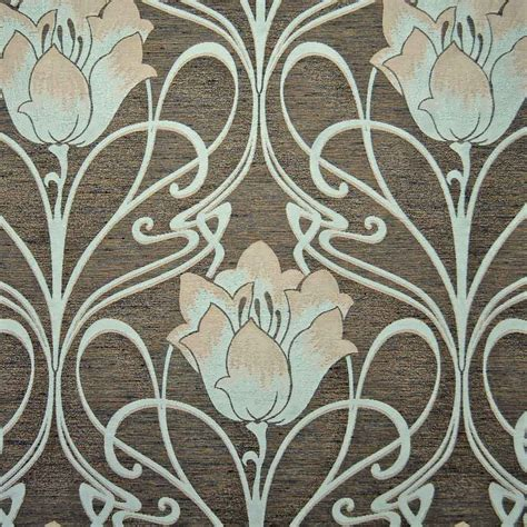 art nouveau style ls art deco art nouveau curtain and upholstery fabric art