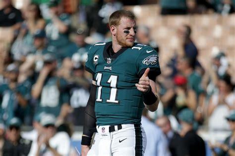 carson wentz  positive updates  eagles quarterbacks