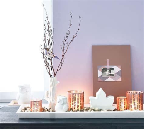 Herbstdeko Fensterbrett by Tablett Im Herbst Look Haus Fensterbank Dekorieren