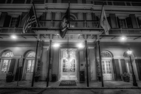 Hotels With Balconies New Orleans by The Haunted Bourbon Orleans Hotel Ghost City Tours