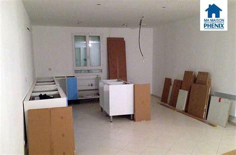 montage cuisine ikea travaux intérieurs début du montage de la cuisine ma