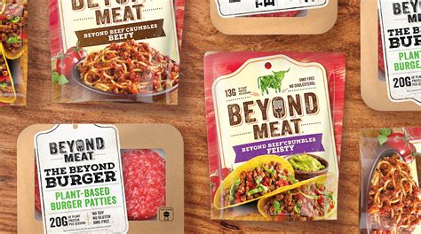 meat relaunches  bold  packaging visual