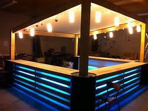 Bar Exterieur De Jardin : canap chaise banc un meuble en palette pour tous ~ Dailycaller-alerts.com Idées de Décoration