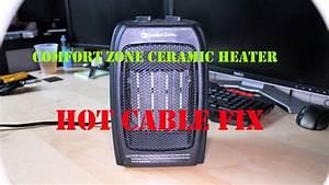 Comfort Zone Ceramic Heater Cz442wm